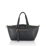 Дамска малка елегантна чанта в черно - ROSSI