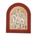 Икона св.Димитър злато