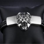Мъжка гривна с лъв - голяма