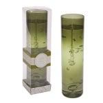 Свещник зелен цилиндър