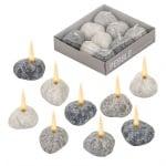 Свещи к-кт камъчета