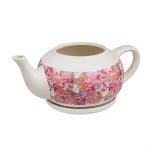 Саксия с форма на чайник + чинийка