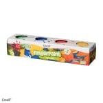 Комплект боички за рисуване с ръце CREALL, 4х125 ml, картон
