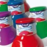 Боички за рисуване с ръце CREALL Mini, 500 ml