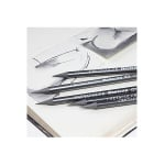 Комплект джобен CretaColor, Graphite 6 бр.+ острилка