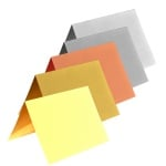 Картичка цветен картон RicoDesign, PAPER POETRY, HB6, 200g, TR.HWEISS