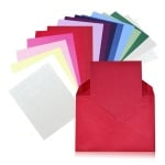 Картичка цветен картон RicoDesign, PAPER POETRY, А7