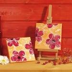 Комплект акрилни бои Hobby Line, пастелни матови, 6 x 20 ml