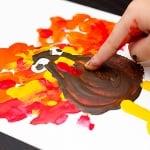 Боички за рисуване с ръце CREALL, 750 ml