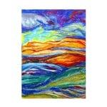 Хартия за рисуване с маслен пастел, 49 g/m2, А4, 25л в пакет, бял