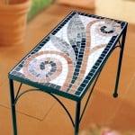 Мозаечни плочки JOY, стъкло, 10x10x4 mm, 104 бр., чисто бяло