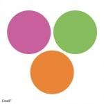 Кофичка - кокила, флуорисцентен цвят