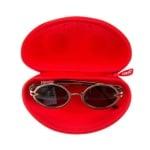 Калъф за очила Beast, 17x6x9cm, червен