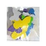 Комплект деко фигурки Пеперуди от пеногума, 20 бр.