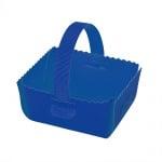 Кошница за подарък, велпапе, 12 х 14 cm, синя