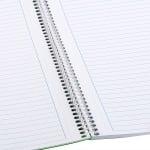 Тетрадка Notte Trend, A4, спирала, PP корица, 100 л., ред, 60 g/m2
