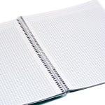 Тетрадка Notte Pastel, A4, спирала, Flexy корица, 80 л., квадрат, 60 g/m2