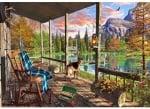 Пъзел художествен WENTWORTH, Mountain Cabin, 40 части