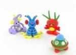 Детски комплект Glow-in-the-Dark Kit Sculpey, флуорисциращи