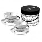 Комплект порцеланови чаши, Cappuccino Adagio, 2 бр.