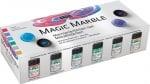 """Комплект Hobby LINE, Magic Marble, """"Metalic Set"""", 6 части"""