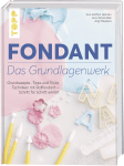 Книга на немски език TOPP, FONDANT – DAS GRUNDLAGENWERK, 176 стр.