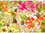 Пъзел художествен WENTWORTH, Hummingbird Garden, 750 части