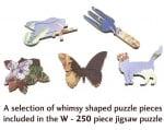 Пъзел художествен WENTWORTH, Garden in Gold, 250 части