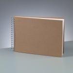 Албум за скрапбукинг, A 4, 30 × 21,5 cm, 25 стр., 190 g/m², кафяв