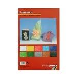 Блок японска хартия, 25 g/m2, 22,5 x 32,5, 10 л, разноцветена