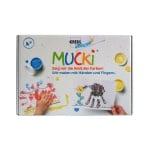 Креативен комплект за рисуване MUCKI, 20 части
