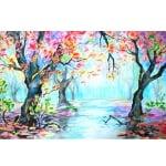 Комплект цветни пастели 3 в 1 CREALL Silky 12 цвята, 12 бр.