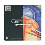Комплект художествен CretaColor, PASTEL BASIC, метална