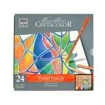 Комплект пастелни моливи CretaColor, FINE ART PASTEL, 24 цвята,