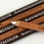 Чернопастелен молив CretaColor