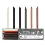 Комплект сърцевини CretaColor, Artists' Leads, 6бр.