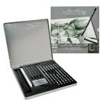 Комплект художествен CretaColor, BLACK BOX, дървена