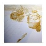 Пастел CretaColor, GOLD, 7х7 mm, 1бр., златен