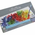 Комплект акварелни моливи Cretacolor, MARINO, 36 цвята