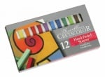 Комплект пастели STARTER, PASTEL CARRE, 12 цвята