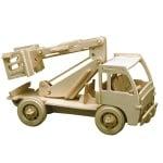 Дървен комплект за сглобяване, Авто-вишка