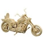 Дървен комплект за сглобяване, Мотоциклет Harley Davidson
