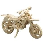Дървен комплект за сглобяване, Мотоциклет кросов