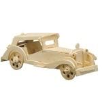 Дървен комплект за сглобяване, Ретро MG TC
