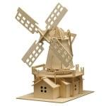 Дървен комплект за сглобяване, Вятърна мелница