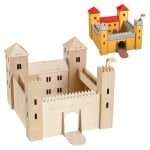 Дървен комплект за сглобяване, Замък