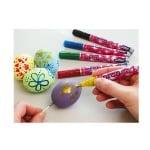 Маркери за декорация Decopen Glitter, 1-3 mm