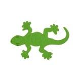 Деко фигурка гущерче Filz, 40 mm, тревно зеленo