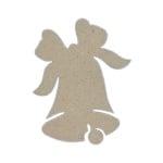 Декоративна фигура RicoDesign, КАМБАНКА, MDF, 10/8/0.5 cm