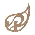 Декоративна фигура RicoDesign, МОТИВ 2, MDF, 7.7/11 CM